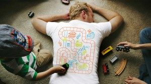 La maglietta per avviare giochi improvvisati e farvi rilassare